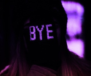 bye and purple image
