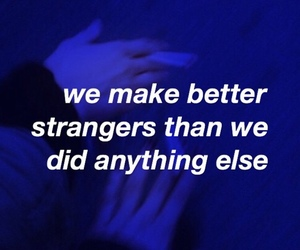 aesthetic, quotes, and blue image