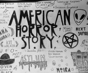 asylum, black, and coven image