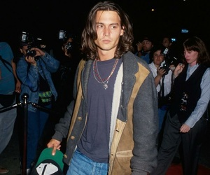 johnny depp, 90s, and vintage image