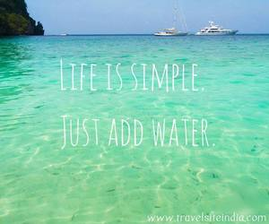 life, simple, and sea image