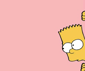 bart, the simpsons, and yellow image