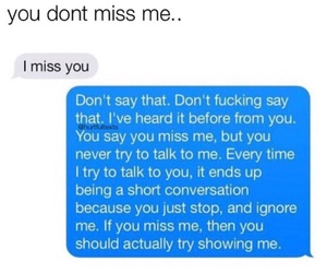 i miss you, quote, and tumblr image