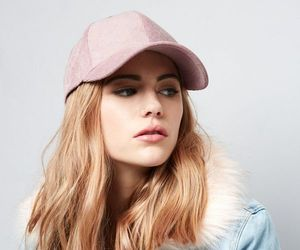 accessories, cap, and pink image