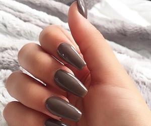 nails and gray nails image