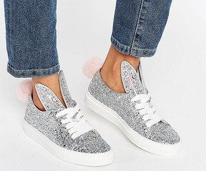 glitter, sneaks, and silver image
