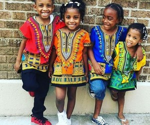 africa, babies, and dresses image