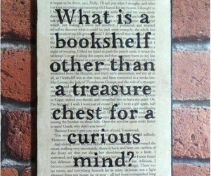 books, quotes, and bookshelf image