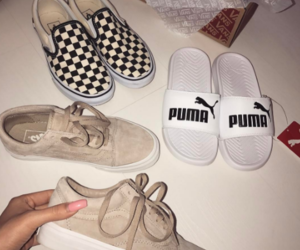 black and white, shoe game, and summer cosmetics image