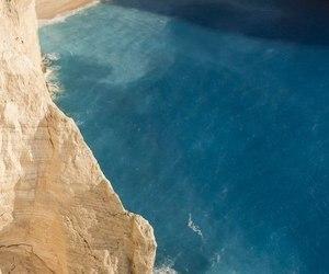beach, sea, and Greece image