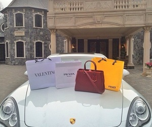 luxury, Prada, and car image