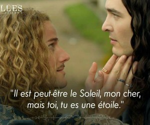 monsieur, tv show, and versailles image