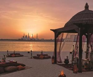 arabian, beach, and travel image