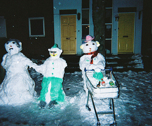 indie, snow, and disposable image