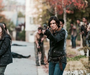 twd, Maggie, and the walking dead image