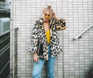 blonde, fashion, and spring image