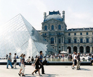 paris, louvre, and vintage image