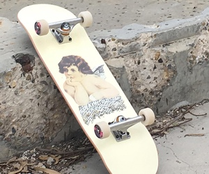 skateboard and aesthetic image