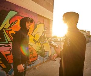 boy, graffiti, and guy image