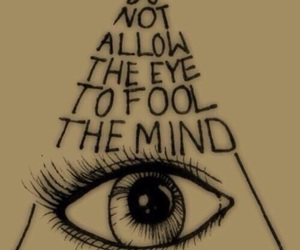 eye, mind, and quotes image