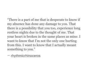 damaged, you, and i miss image