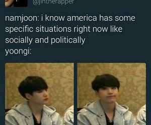 america, kpop, and bts image