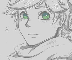 miraculous ladybug, Adrien, and Chat Noir image