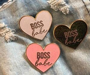 pins, boss, and fashion image