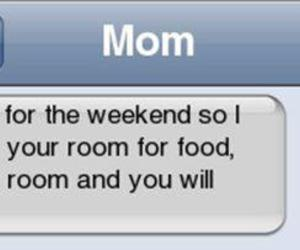 funny, mom, and text image