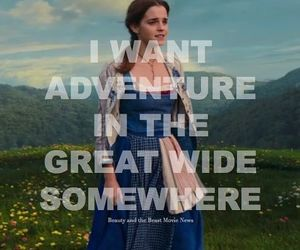 adventure, belle, and watson image