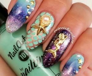 mermaid and nails image