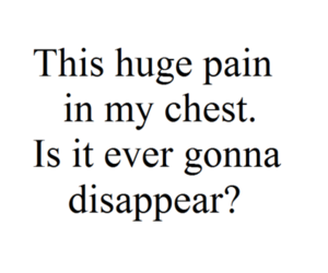 chest, huge, and pain image