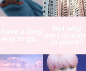 aesthetic, pastel, and jimin image