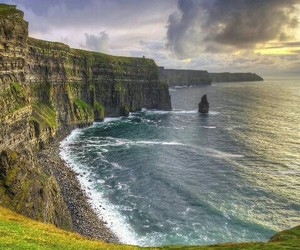 cliffs, europe, and ireland image