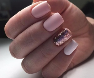 nails, style, and pink image