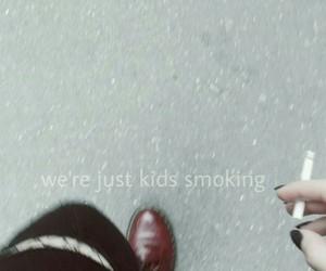 quote, grunge, and smoke image