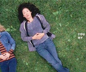 meredith grey, grey's anatomy, and cristina yang image