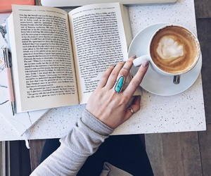 book, girl, and morning image