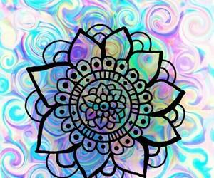 tumblr, mandalas, and zentangle art image