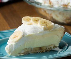 banana, cream, and dessert image