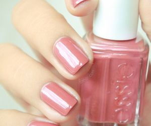 nails, pink, and nail polish image