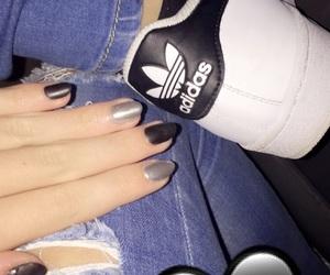 adidas, ًًًًًًًًًًًًً, and nails image