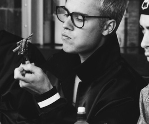 justin bieber, black and white, and purpose image