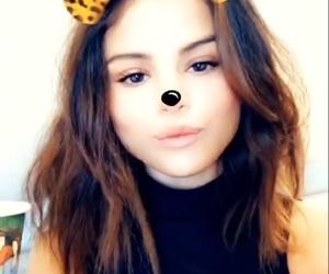 selena gomez, icon, and snapchat image