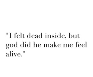 quote, dead, and him image