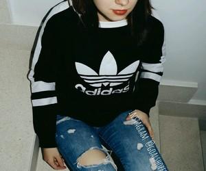 adidas, hoodie, and girl image