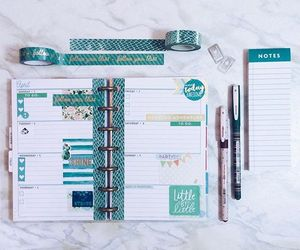 agenda, planner, and stationery image