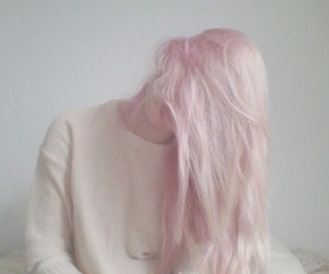 aesthetic, light pink hair, and beautiful image