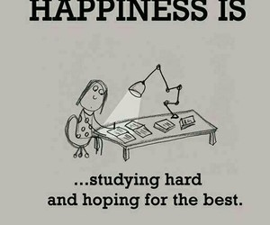 happiness, exam, and hope image