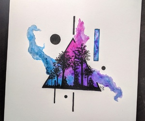 art, arte, and colours image